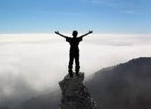 Człowiek na szczycie