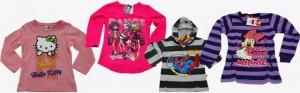 bluzki - ubrania dla dzieci