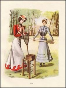 historia damskiego stroju sportowego